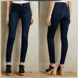 Paige Hoxton High Rise Ultra Skinny Jeans Lamont